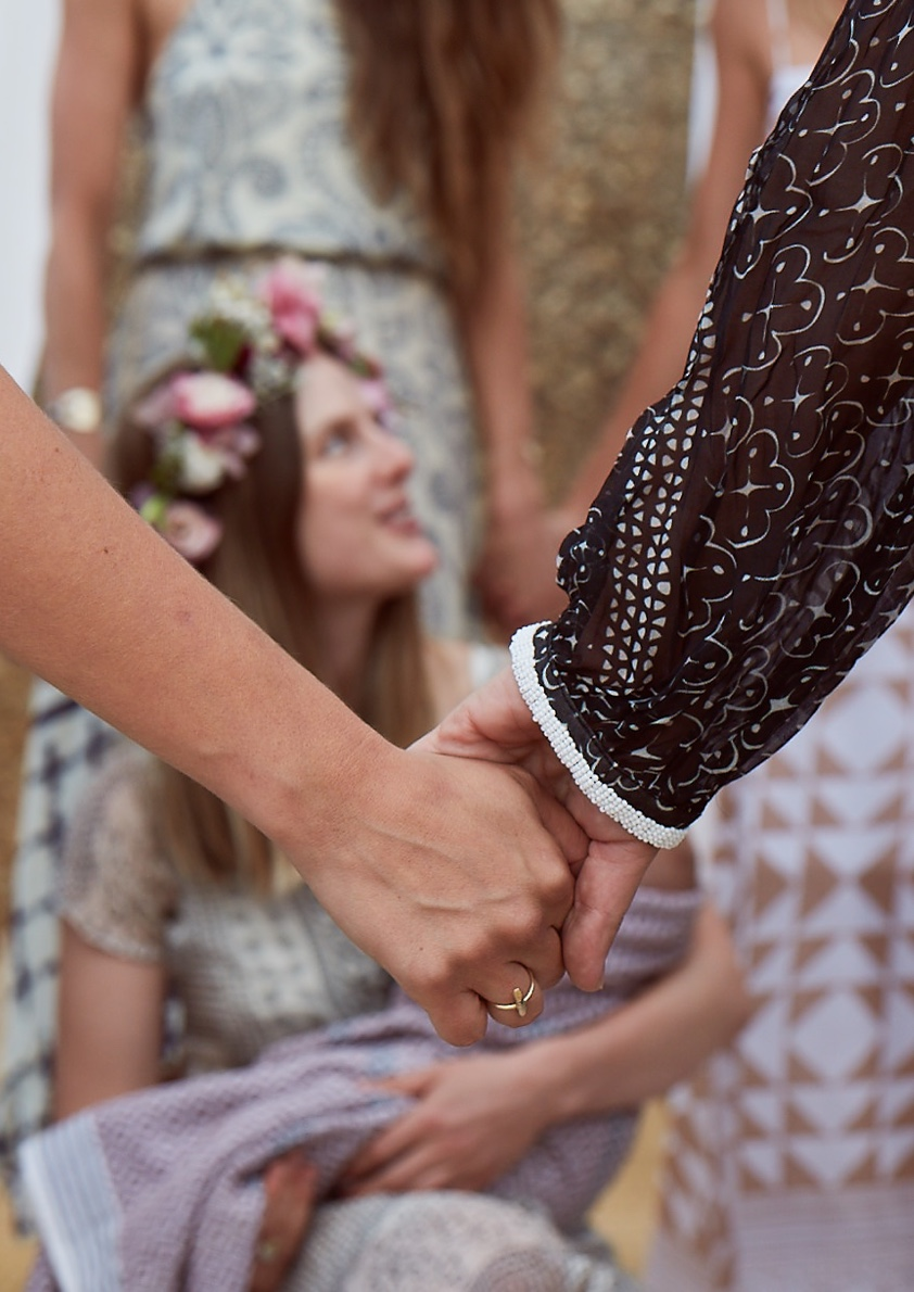 Bride blessing from the souk